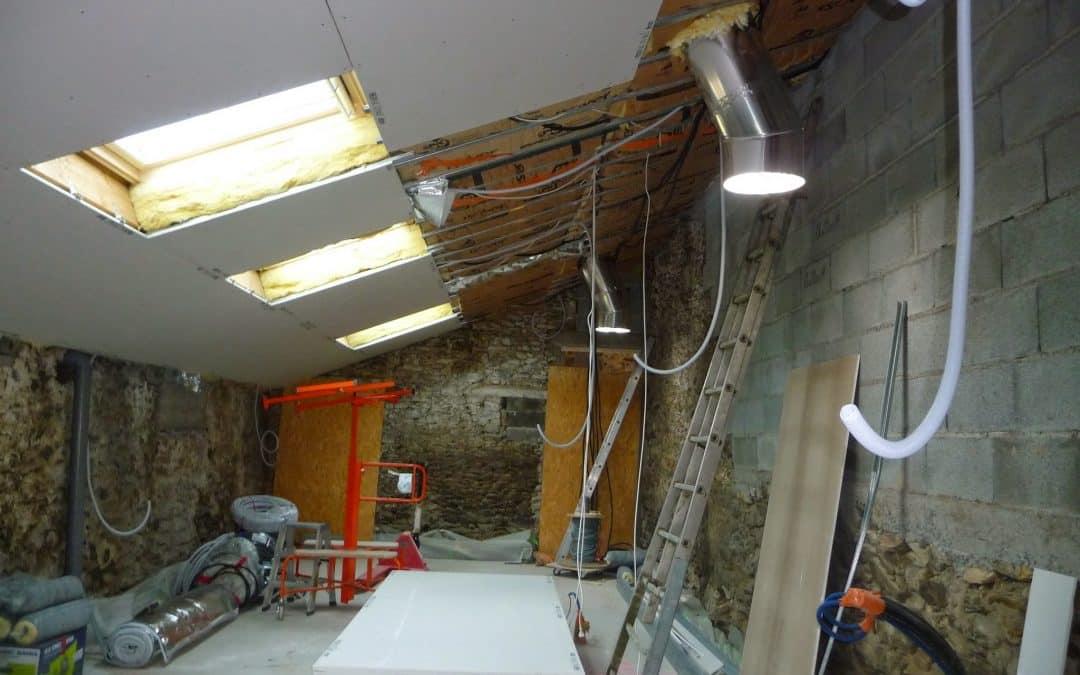 Comment poser un plafond en placo ?