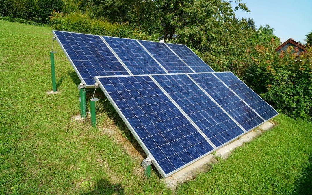 Le fonctionnement d'une cellule photovoltaïque