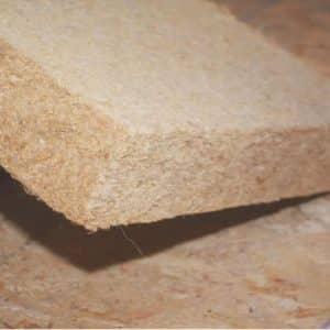 Panneau fibre bois flexible densité 40 kg/m3 isonat flex 40