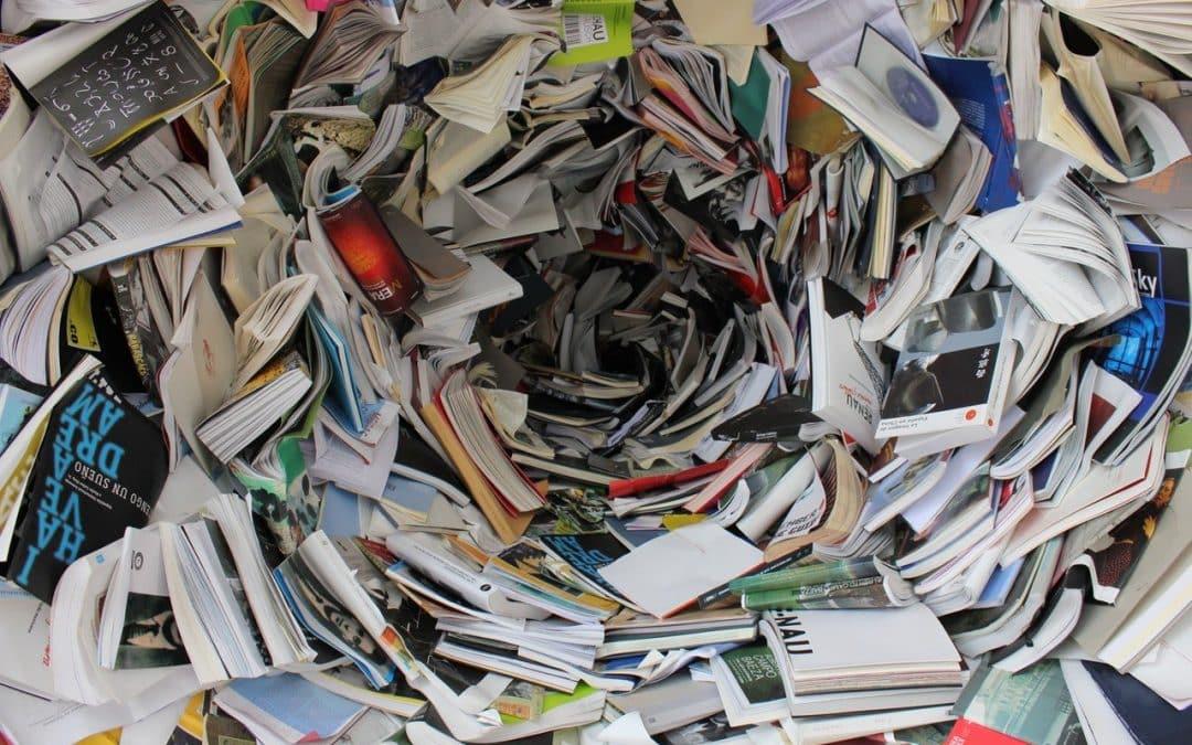 La valorisation/recyclage du papier et du carton